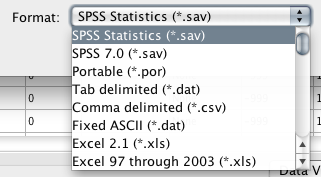 Mplus Discussion >> Reading a  xls file or  sav file